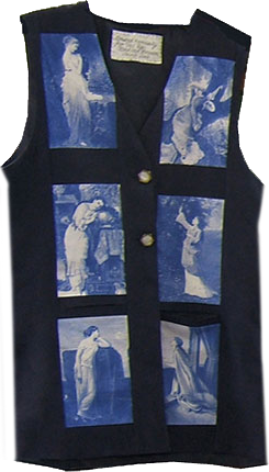 [Vest made with inkjet printable cotton fabric sheets]